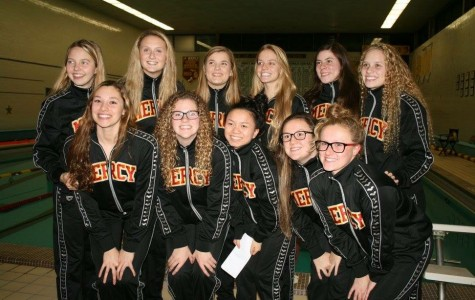 The end of a long road for Mercy swimming seniors