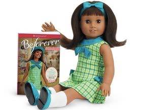 Melody Ellison makes her American Girl Doll debut