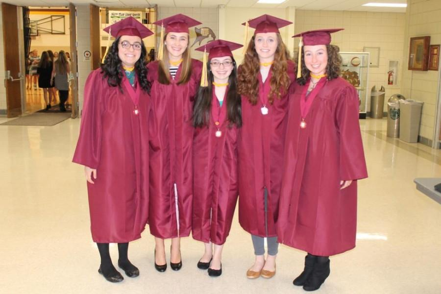 Mercy's National Honor Society welcomes new members