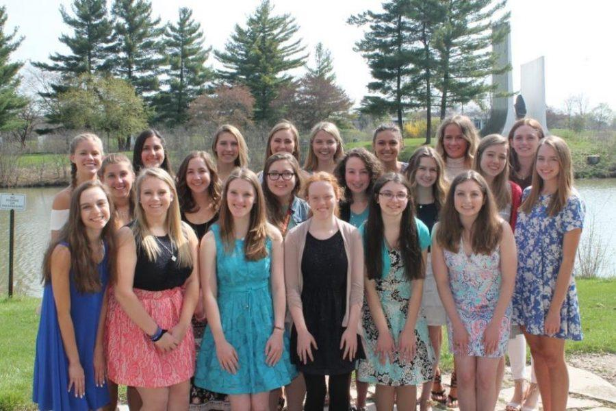 Val/Sal candidates honored at annual Catherine McAuley Tea