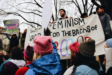 A glimpse into the Women's March on Washington