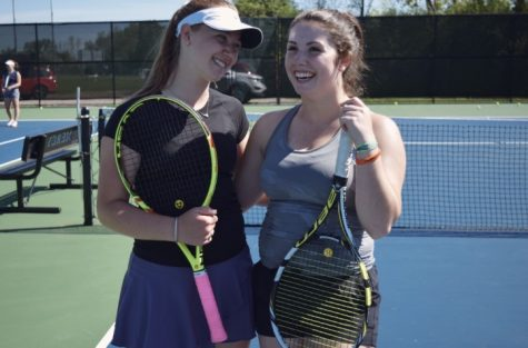 Match point: seniors bid farewell to tennis