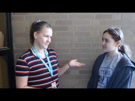 Mercy girls react to seniors' departure