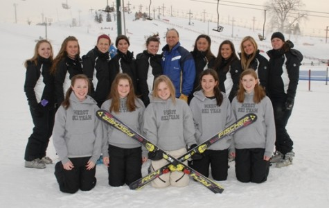 Mercy Ski Team Competes at Catholic Leagues