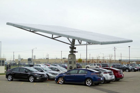 The Solar Tree: The Next Step for Electric Vehicles