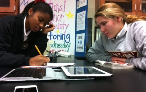 National Honor Society Tutoring Program Helps Mercy Students