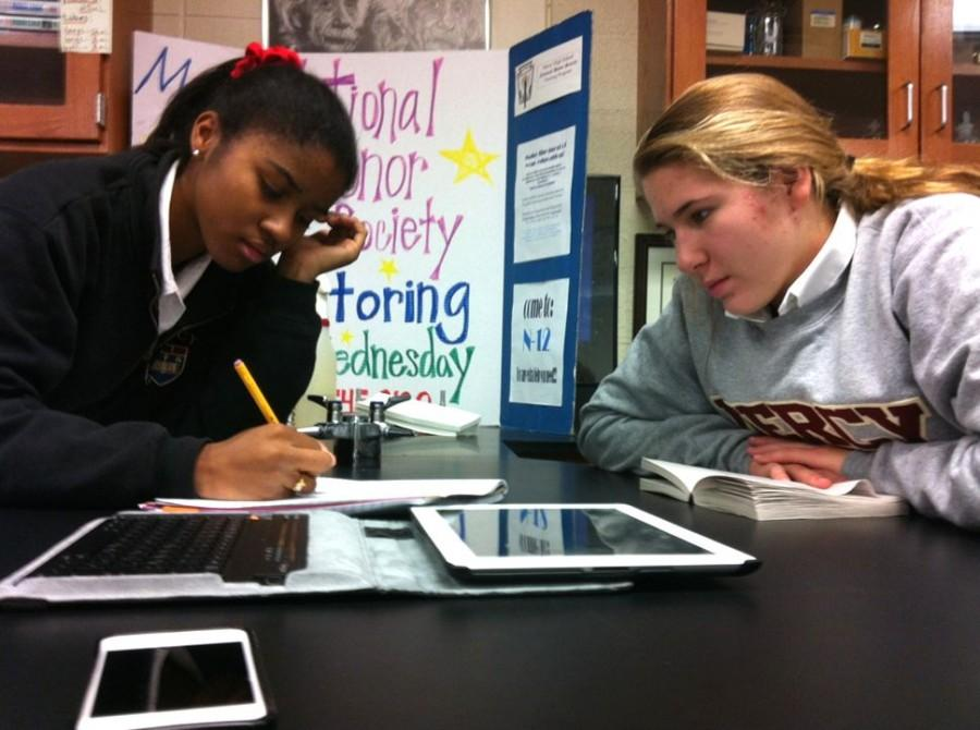 National+Honor+Society+Tutoring+Program+Helps+Mercy+Students