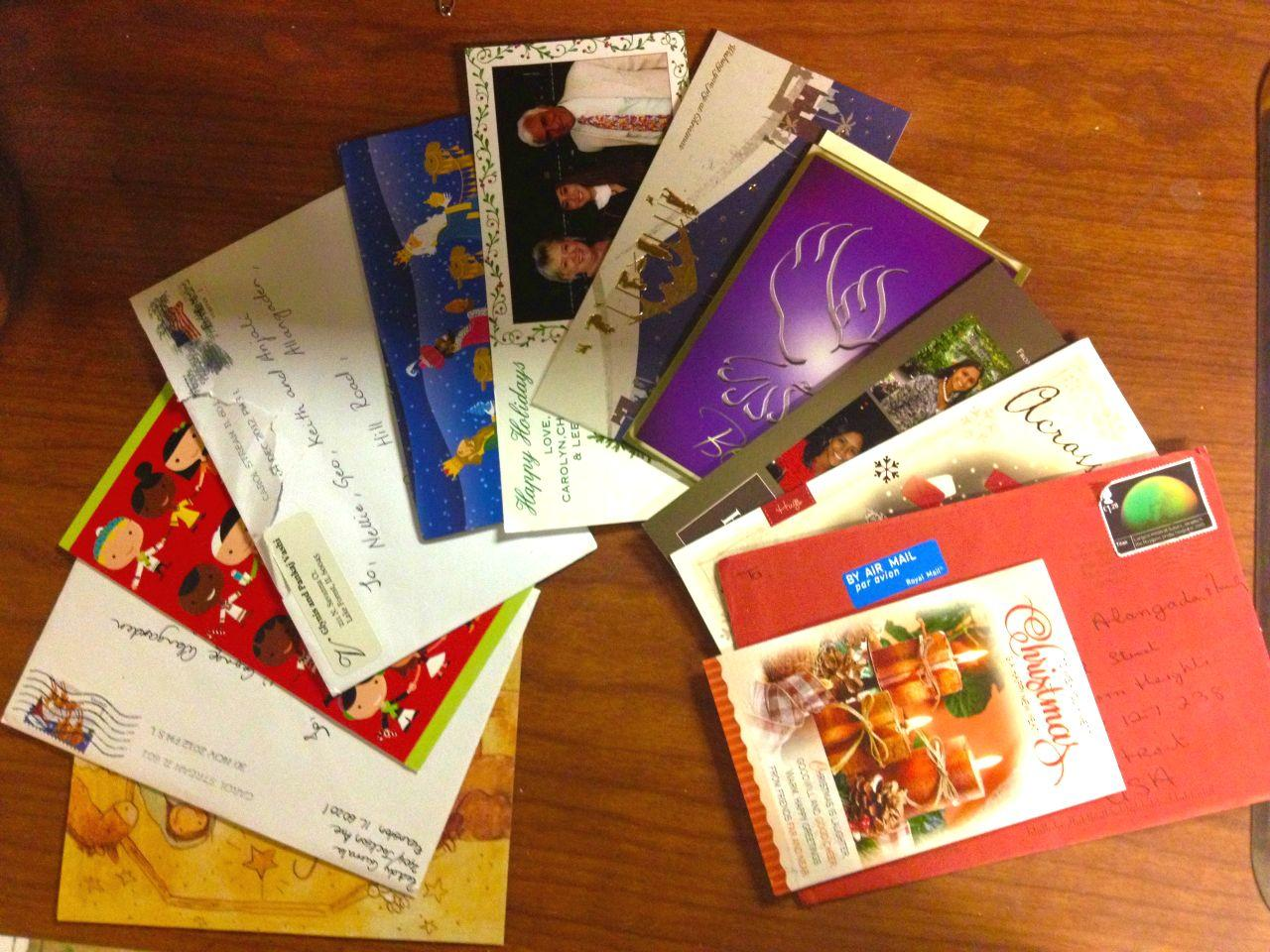 As the piles of Christmas cards begin to pour in, some question whether the Christmas card is still relevant today.