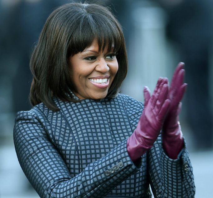 First Lady Michelle Obama's Inauguration Day Style