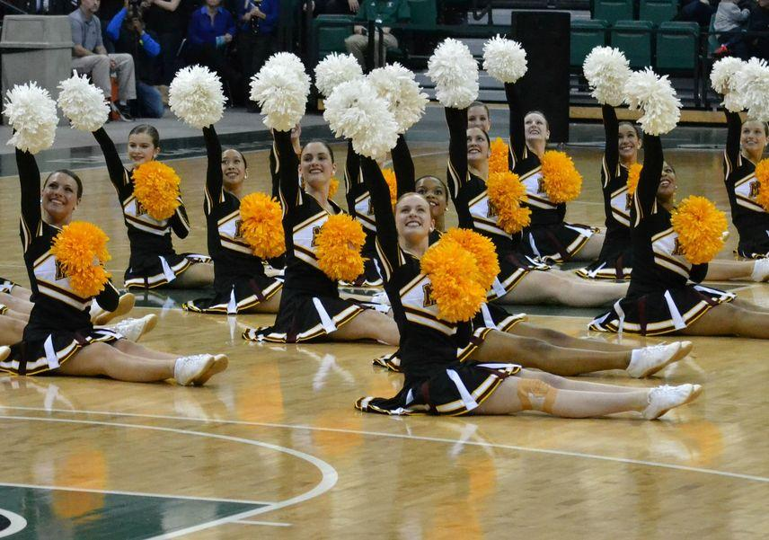Pompon+Performs+at+State+Competition