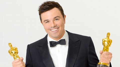 Seth MacFarlane, actor and comedian, hosted the 2013 Academy Awards.  Fair use: abcnews.com