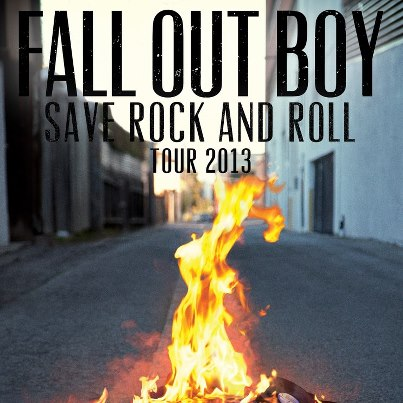 Cover art for Fall Out Boy's most recent album, Save Rock and Roll. Fair use
