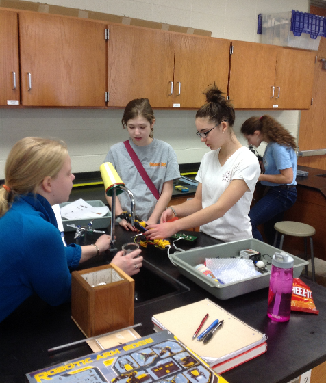 Science Olympiad Looks Forward to Next Year