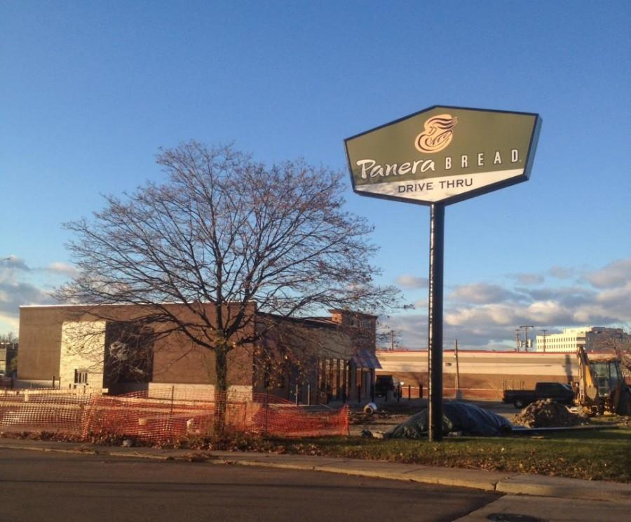 On Telegraph road, a Panera Bread still under construction is now in site.