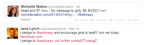 Michelle Malkin and Jane Lynch, who are both well-known in society, have different takes on the