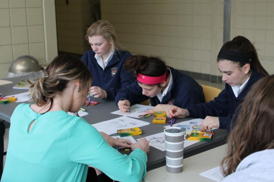 LINK Crew Coloring Day a Success