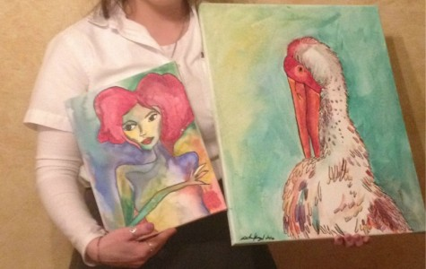 Miranda Kargul has taken over a dozen art classes, her favorite being painting and drawing.