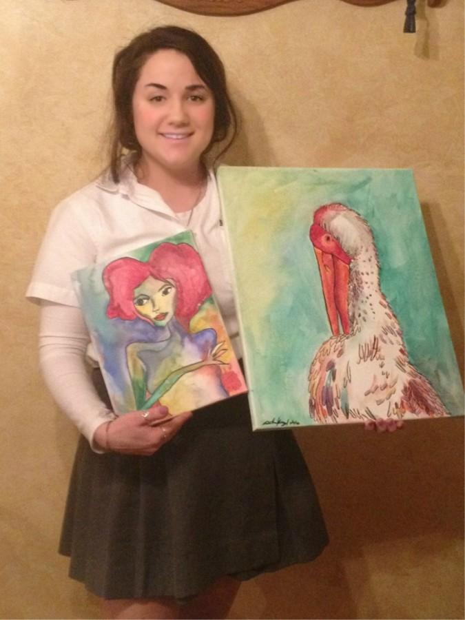 Miranda+Kargul+has+taken+over+a+dozen+art+classes%2C+her+favorite+being+painting+and+drawing.+%0A