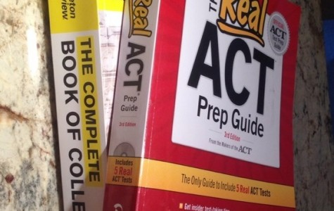 The Real ACT Prep Guide book features five real ACT tests for students to take and study from to achieve their goal score for college.