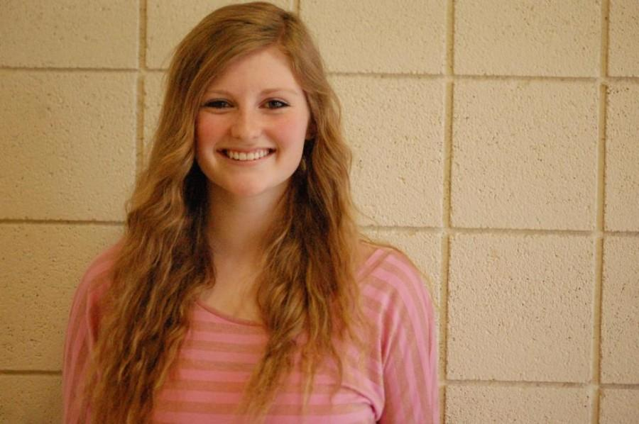 Sophomore Katie Koenigsknecht writes her own music and has even recorded some of her original songs.