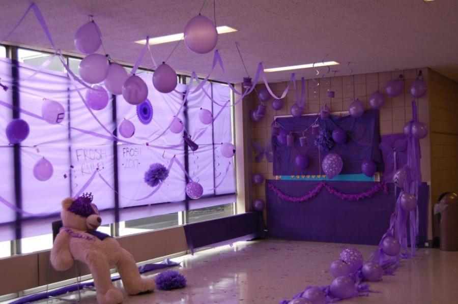 Spirit week, which also features alcove decorating by each grade, is marked by high energy and friendly competition.