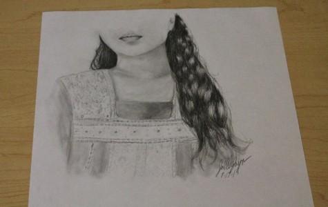 Mercy freshman displays amazing drawing talent