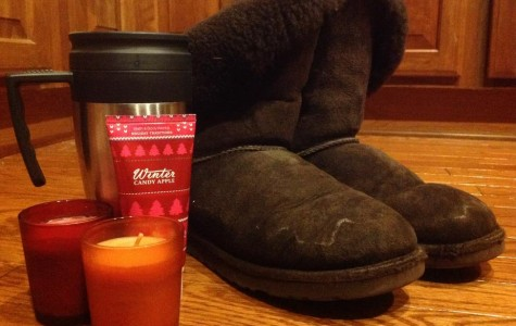 """Ugg boots, Bath & Body Works seasonal hand lotion, Starbucks Pumpkin Spice Lattes, and holiday-themed scented candles are all considered """"basic."""" (Photo Credit: Katie Schubert)."""
