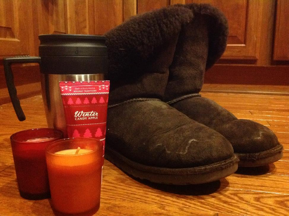 "Ugg boots, Bath & Body Works seasonal hand lotion, Starbucks Pumpkin Spice Lattes, and holiday-themed scented candles are all considered ""basic."" (Photo Credit: Katie Schubert)."