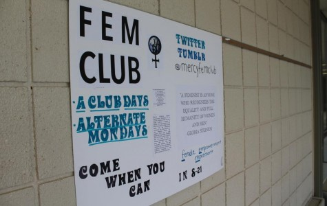 The new FEM club attracts many students and hopes to gain a new perspective on feminism. (Photo Credit: Sierra Wangler).