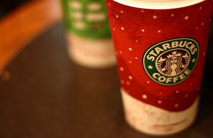 Starbucks holiday drinks is just one reason why Starbucks is one of the top coffee shops in the nation (Photo Credit: Esparta Palma)