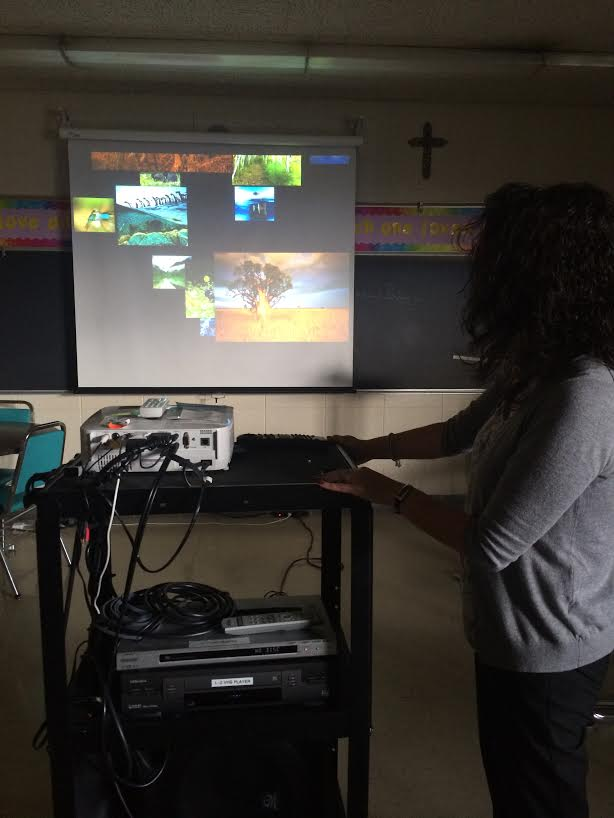 Showing the class movies is becoming more and more common, the question remains whether they affect students the way teachers want them to (Photo Credit: Zaynah Siddique).