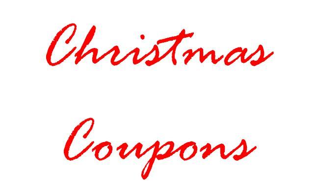 Christmas Coupon Links