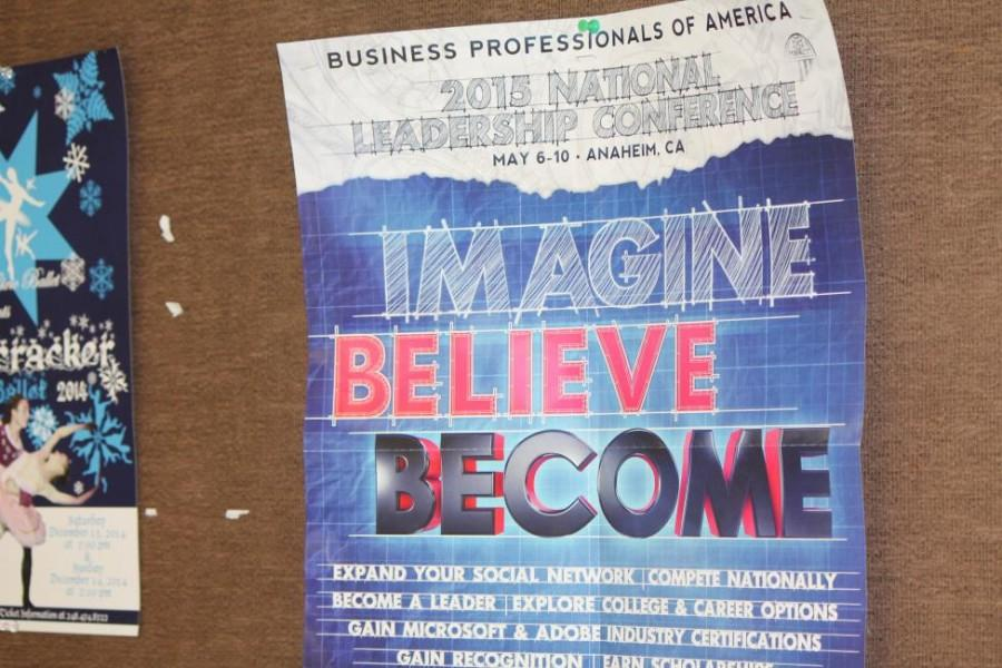 This year's theme for the BPA National conference-- imagine, believe, become-- embodies the focus of the club: to inspire the next generation of business professionals (Photo Credit: Paisley Sutton).