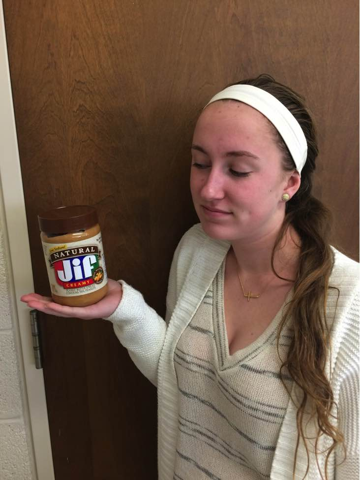 Peanut butter, a favorite spread of many, is found in foodstuffs from candy to sandwiches. However, those who are allergic may never get to make the choice between creamy and crunchy (Photo Credit: Bridgette Conniff).