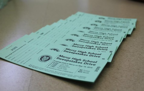 Mercy's Sweepstakes tickets are sold for $5 per ticket and $25 per book (Photo Credit: Lilly Blake).