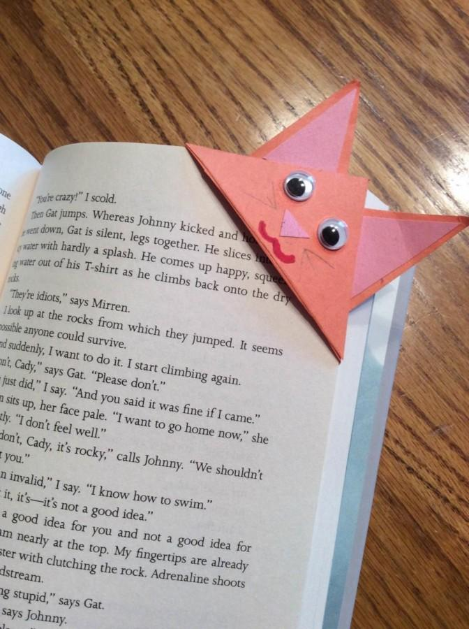 STARS members were encouraged to continue reading over the summer– with the help of their new bookmarks, of course (Photo credit: Theresa Benton).