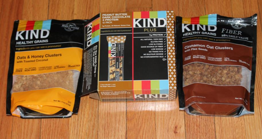 KIND snacks may have a higher amount of saturated fat than the FDA would like, but the nutritional value can be measured in other ways (Photo credit: Molly Schwalm).