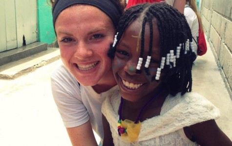 Lift Up the Girls of Haiti is a project started by Leah Quinn that donates new or gently used bras to girls in Haiti.  You can contact Quinn at quinnl@mhsmi.org if you're interested in donating. (Photo courtesy of Leah Quinn)