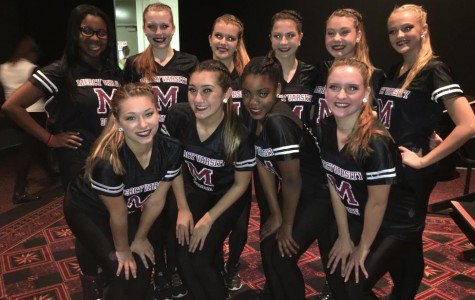 Mercy's dance team gears up for basketball season