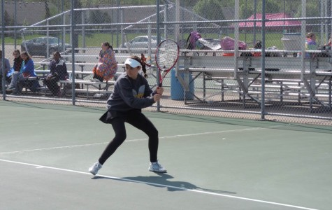 Last season Dunleavy played number one singles for Mercy's team.