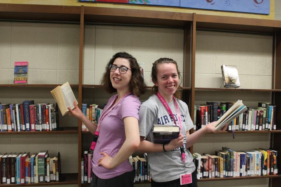 Senior STARS leaders Julia Kirby and Heather Lillystone will be graduating this year, so they are looking for new students to take over the club. (Photo credit: Theresa Benton)