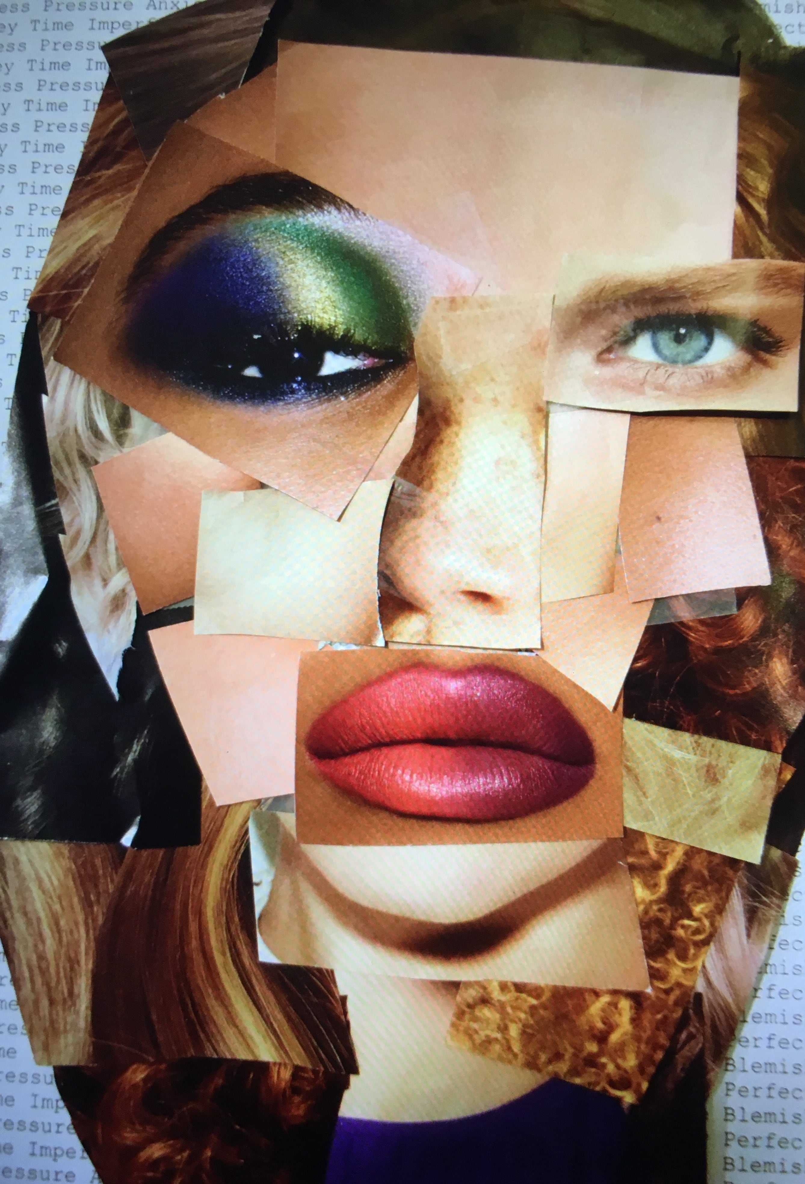 Although makeup can serve as a confidence booster for some, for others it suffices as a mask to hide behind. Society has created distorted images and unrealistic expectations of who we should be and what we should look like.