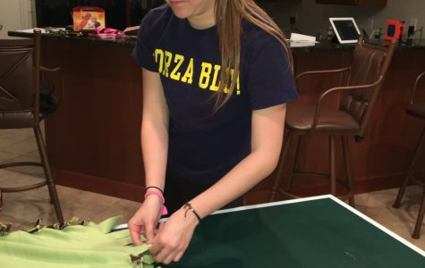 Mercy girls start service project to help the homeless