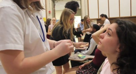 Behind the Scenes: 42nd Street Makeup Crew
