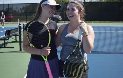 Match point: seniors bid farewell to tennis