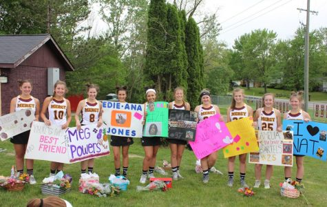 Mercy Varsity Lacrosse says goodbye to seniors