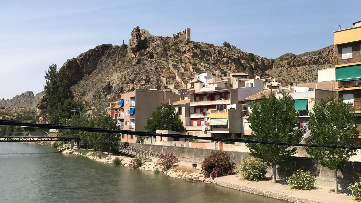 Pictured: The Río Segura, a wide river in southeast Spain that went from being one of the most polluted rivers in Europe to the least polluted in Spain. (Photo Credit: Sophie Lamphier