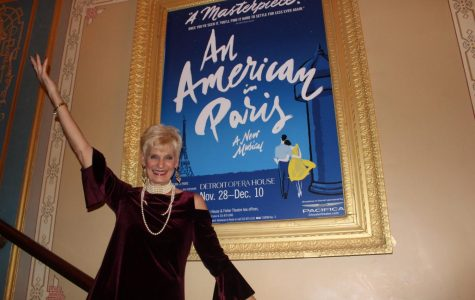 Une nuit au théâtre: A night at the theatre