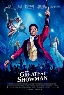 The Greatest Showman, starring Hugh Jackman, tells the story of the creator of the circus, P.T. Barnum.