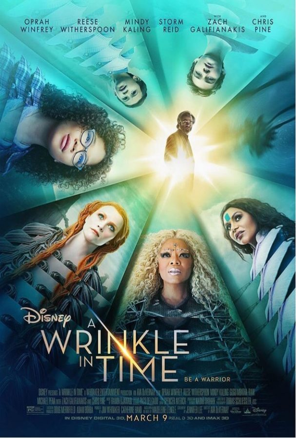 Disney's A Wrinkle in Time imaginatively explores the consequences a man's scientific discovery has on his daughter, his community, and the entire universe. (Photo credit: Instagram)